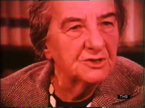 Israel Prime Minister interview Golda Meir