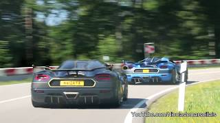 17 Koenigsegg Brutal Sound !! (Regera - Vader - Thor - Naraya and co)