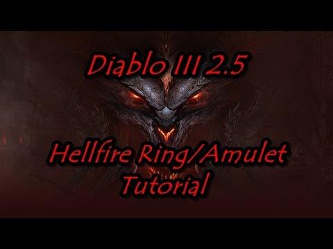 Diablo 3 2 5 2 6 1 Hellfire Ring Amulet Tutorial Youtube