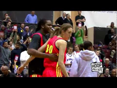 Girl Dunks TWICE! 6'3 Breanna Stewart In The McDonalds Dunk Contest!