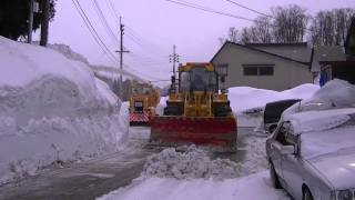 The Rendezvous of the Snow Removing Car