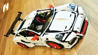Motorized Decool 3368 Porsche 911 GT3 RS (White)