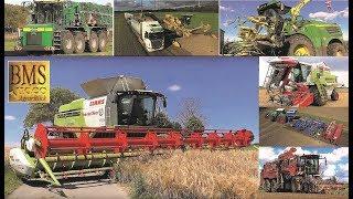 Landwirtschaft - Landwirte u. Lohnunternehmen in Deutschland - Agriculture german farmers - harvest