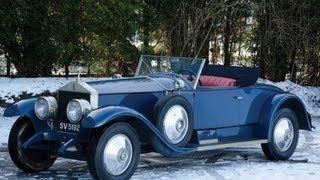 1926 Rolls-Royce Springfield Silver Ghost Playboy Convertible Coupe by Brewster $313,500 SOLD!
