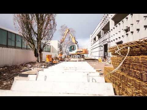 Film über die Entstehung eines VW Autohauses in Hannover