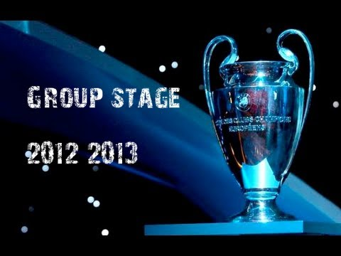 UEFA Champions League 2012-2013 Group Stage HD