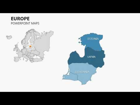Europe Maps - Complete Europe PowerPoint Maps