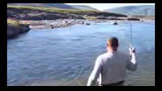 Рыбалка- Лучение острогой щуки.