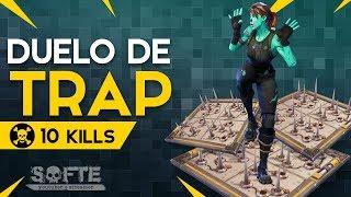 TRAP DUEL-10 KILLS (Fortnite Battle Royale free) | [EN-BR]-Softe
