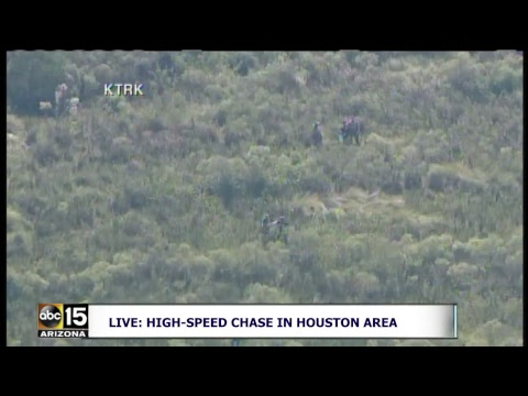 LIVE: High-speed chase in the Houston area