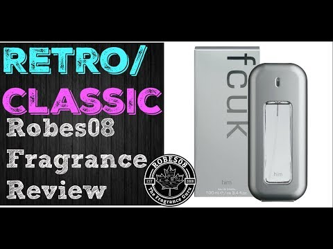 Retro: FCUK Him by French Connection UK Fragrance Review (2004)