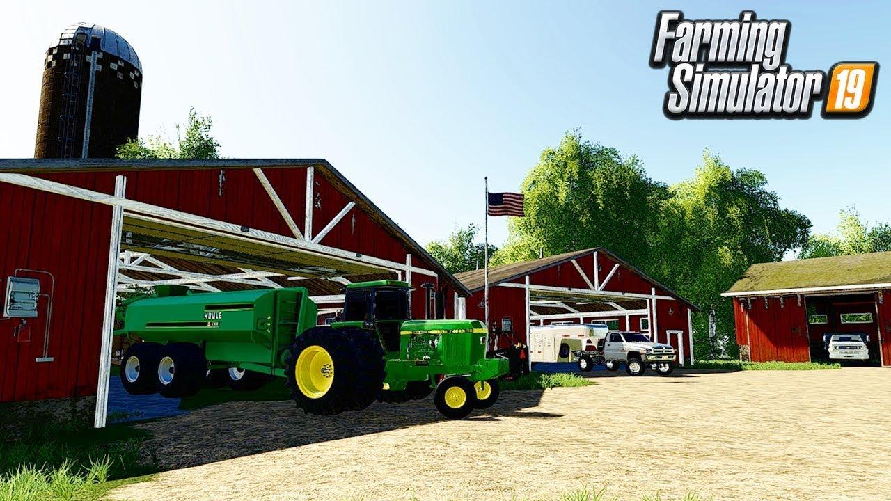 OUR OLD IRON EQUIPMENT TOUR | FARMING SIMULATOR 19 | AUTUMN OAKS