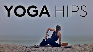 Yoga For Hip Flexibility (45 Min Class)
