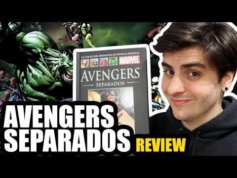 AVENGERS: SEPARADOS | COMIC REVIEW | Colección Definitiva Marvel #3