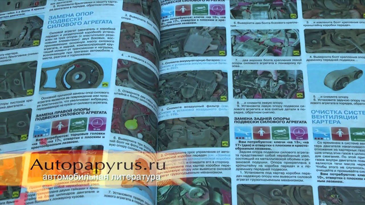 Литература по ремонту Mazda CX-7