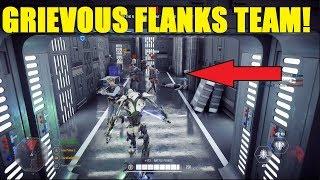 Star Wars Battlefront 2 - General Grievous flanks team XD Luke's saber swings not registering?