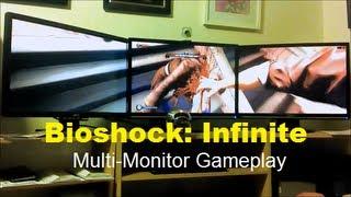 Bioshock Infinite | Multi-Monitor Weekday Gameplay | Max Settings HD 7970 | Episode 22 | STRG |