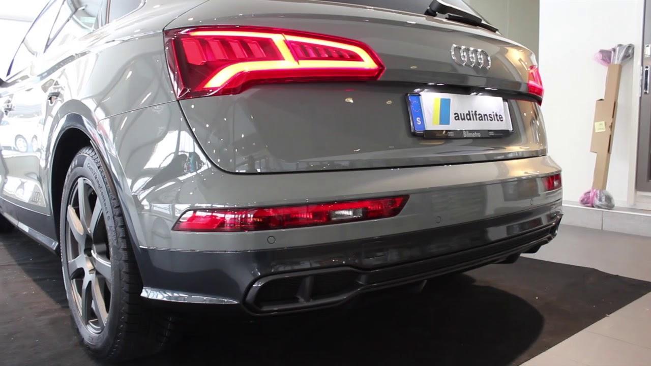 Audi SQ5 3.0TFSI 354PS start up revs  sound  rear lights ...