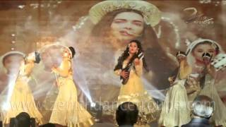 Mughal Dance Performance Zenith Dance Company New Delhi India