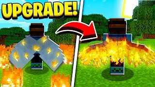 How to UPGRADE ELYTRA WINGS in Minecraft TUTORIAL!