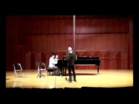 Countertenor Xiao Ma 肖玛-Bezit-Habanera(rehearsal)-Guizhou Normal University, Guizhou, China, 2012