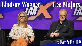 Lee Majors & Lindsay Wagner - The Bionic Duo Panel/Q&A - FanX 2019