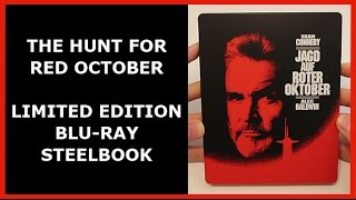 THE HUNT FOR RED OCTOBER - LIMITED BLU-RAY STEELBOOK UNBOXING - JAGD AUF ROTER OKTOBER