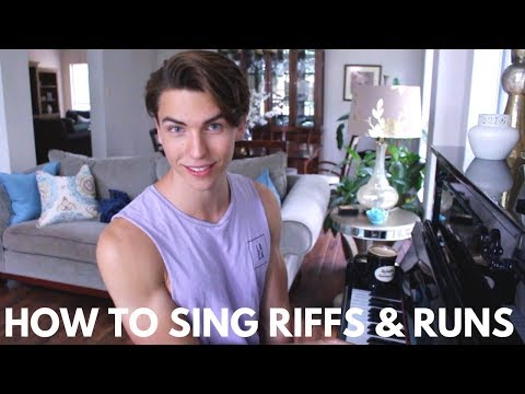How To Sing Riffs And Runs (vocal Agility Exercise) - Learn How To Sing W/ Justin