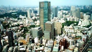 Tokyo City View Tilt Shift