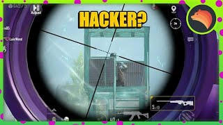 Is He A HACKER?? 😱 | PUBG MOBILE