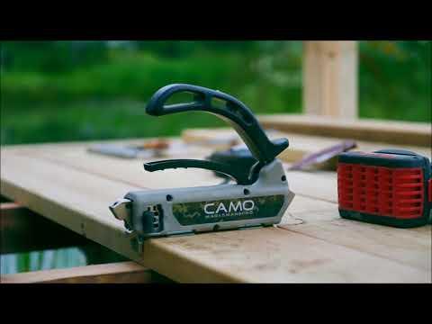 CAMO nematomų tvirtinimų sistema terasoms | Išsamus sistemos pristatymas