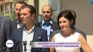 Akadozik az ellenzéki egyeztetés a fővárosi együttműködésről
