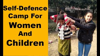 Self-defence training camp for women and children