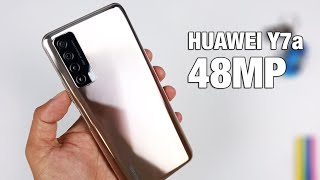 Huawei Y7a Unboxing & Review - 48MP Quad AI Cameras, 22.5W Super Charging and More!