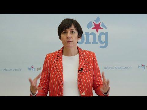 Ana Pontón pide non baixar a garda porque máis do 80% da poboación non completou a vacinación