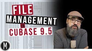 File Management in CUBASE 9.5 - mixdown.online