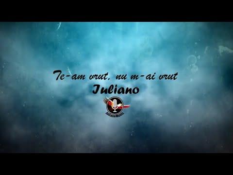 IULIANO - TE-AM VRUT, NU M-AI VRUT (Lyric Video)