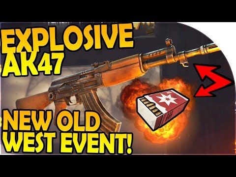 OLD WEST EVENT + EXPLOSIVE AK47 + JUSTICE M32 SHOTGUN - Into the Dead 2 Gameplay ( Android / iOS )