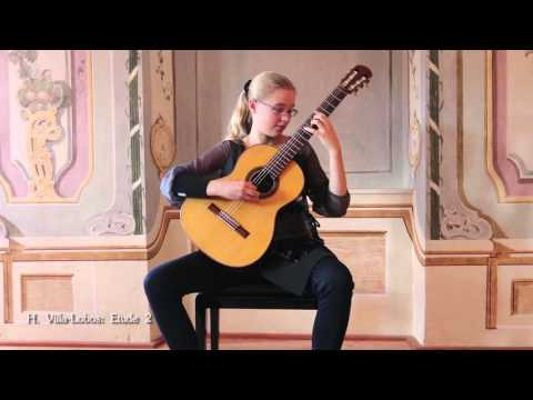 Debut Concert by Leonora Spangenberger (12) at Eggenburg Guitar Festival
