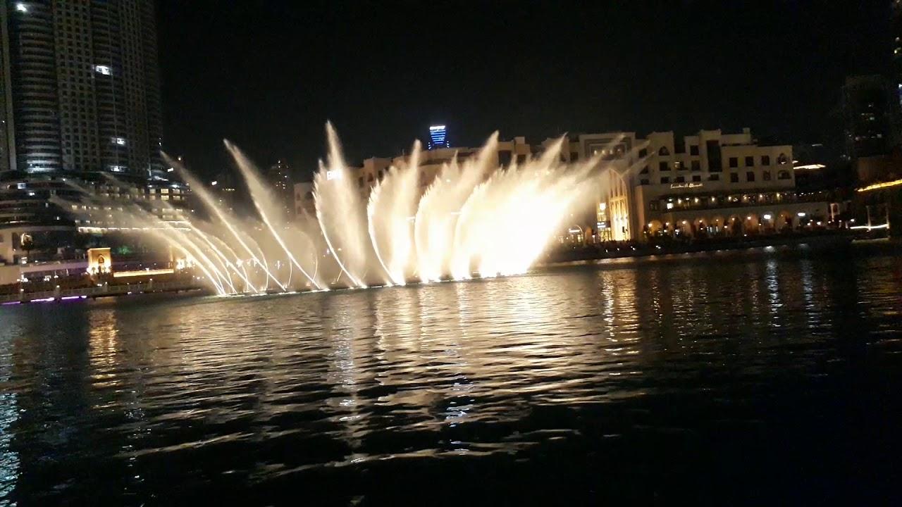 Dubai Fountain Youtube