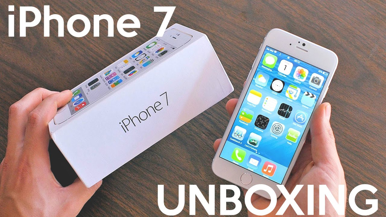 iphone 7 unboxing iphone 7 unboxing and giveaway 11566