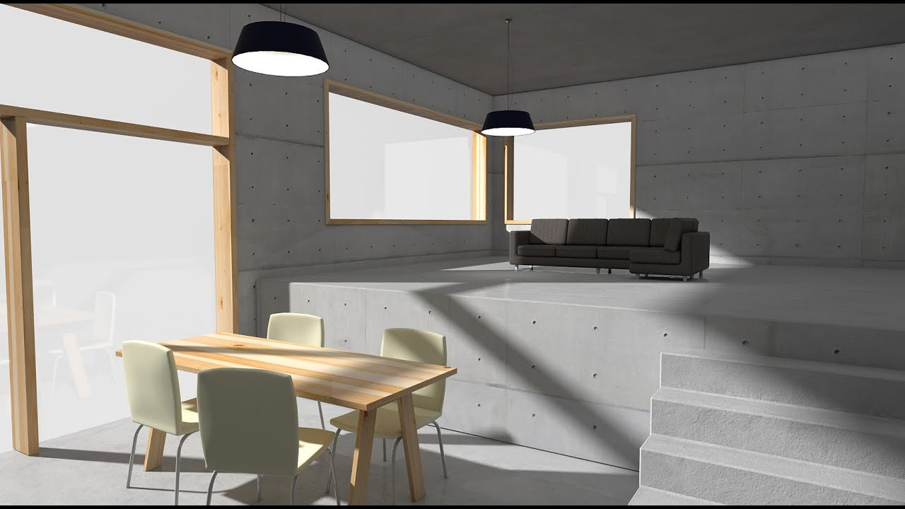 How to render on sketchup with vray interior part 06 for Vray interior