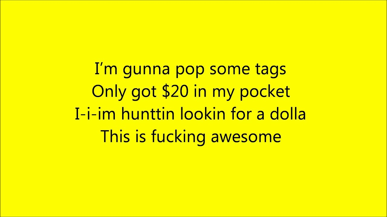 MACKLEMORE - Thrift Shop [Lyrics]