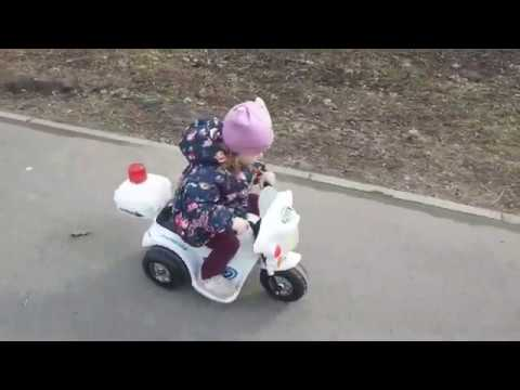 Переделал детский электромотоцикл Kreiss