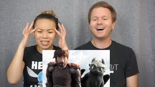 How To Train Your Dragon: The Hidden World Official Trailer // Reaction & Review
