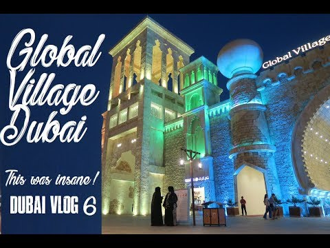 GLOBAL VILLAGE DUBAI -IT IS CRAZY!!! (DUBAI VLOG 6)