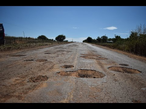 Denúncia! Estado caótico da rodovia entre Lapa e Ibotirama. Vídeo.