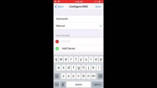 How To Manually Configure DNS on iPhone and iPad