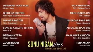 sonu nigam romantic songs collection jukebox deewana tera mujhe raat din t series youtube