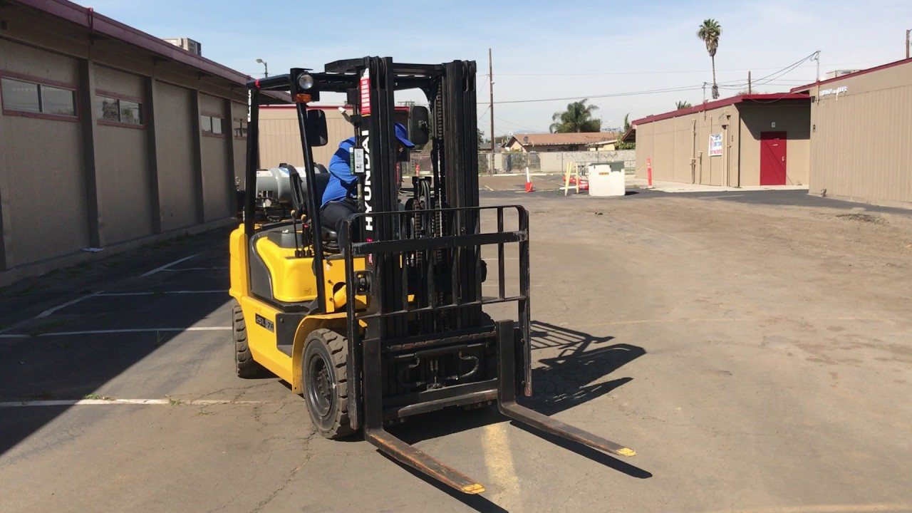 Forklift Training At Compton Adult School Youtube